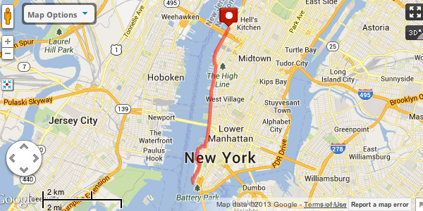 Fathom Six Great Running Routes in NYC